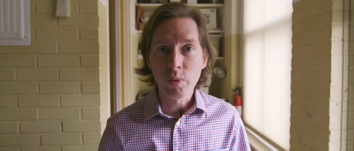Writer Director Wes Anderson pitching