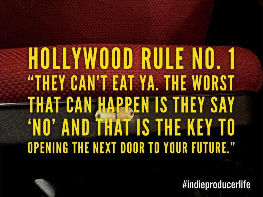 Hollywood Rule No. 1